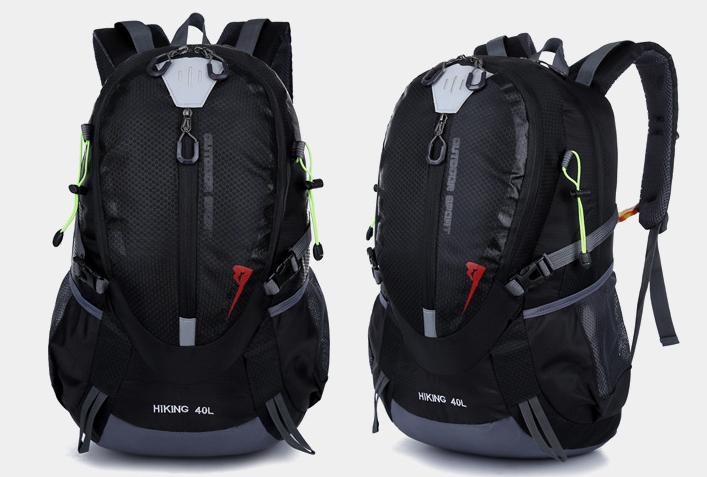 Городской спортивный (велорюкзак) рюкзак FLAME HORSE на 35литров Черный