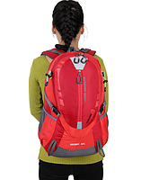 Городской спортивный (велорюкзак) рюкзак FLAME HORSE на 35литров Красный, фото 2
