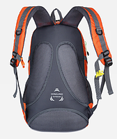 Городской спортивный (велорюкзак) рюкзак FLAME HORSE на 35литров Оранжевый , фото 6