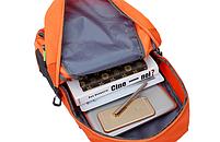 Городской спортивный (велорюкзак) рюкзак FLAME HORSE на 35литров Оранжевый , фото 7