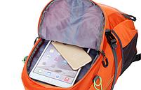 Городской спортивный (велорюкзак) рюкзак FLAME HORSE на 35литров Оранжевый , фото 8
