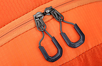 Городской спортивный (велорюкзак) рюкзак FLAME HORSE на 35литров Оранжевый , фото 9
