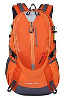 Городской спортивный (велорюкзак) рюкзак FLAME HORSE на 35литров Оранжевый , фото 2