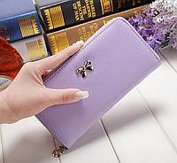 Кошильок светло-фиолетовый бант, кожзаменитель, фото 1