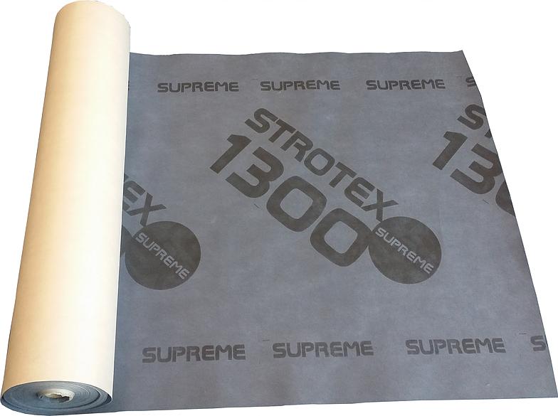 Супердифузійна мембрана Strotex SUPREME ( кровельная супердиффузионная стротекс суприм для кровли под керамику