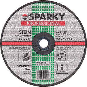 Диск шлифовальный по камню Sparky  C 24 R, 230мм.