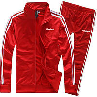 Мужской спортивный костюм Рибок, Reebok, красный (в стиле)