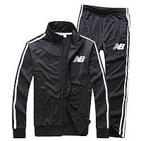 864ed1608ff0 Мужской спортивный костюм New balance, нью беланс, черный (в стиле)