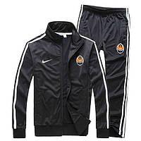 Мужской спортивный костюм Шахтер, Shakhtar, черный (в стиле)