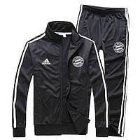 Мужской спортивный костюм Бавария, Bayern, черный (в стиле)