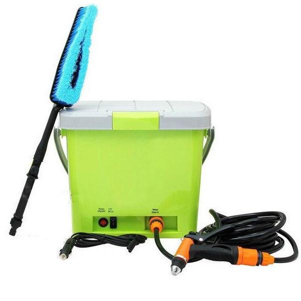 Портативная автомобильная мойка душ от прикуривателя High Pressure Portable Car Washer   минимойка для авто