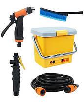 Портативная автомобильная мойка душ от прикуривателя High Pressure Portable Car Washer   минимойка для авто, фото 3