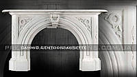 Каминный портал из мрамора Camino CENTODICIASETTE.