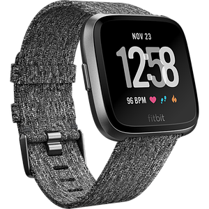 Смарт-часы Fitbit Versa Special Edition, Charcoal Woven (FB505BKGY)
