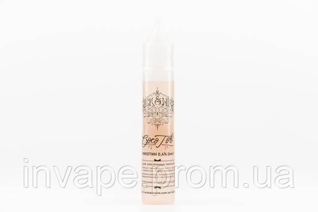 Жидкость для электронных сигарет Wick&Wire - Coco Tob (Кокос, табак) 30мл, 4 мг, фото 2