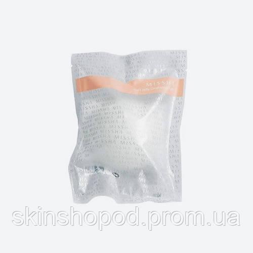 Очищающий спонж конняку с белой глиной MISSHA Soft Jelly Cleansing Puff White Clay - 1 шт