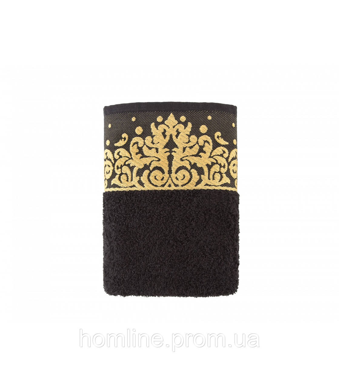 Полотенце Irya Jakarli New Flossy siyah черный 50*90