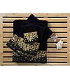 Полотенце Irya Jakarli New Flossy siyah черный 50*90, фото 3