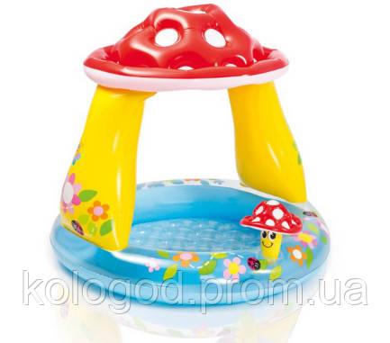 Детский Надувной Бассейн Грибочек Intex 57114 102х89 см