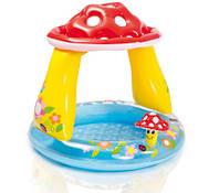 Детский Надувной Бассейн Грибочек Intex 57114 102х89 см, фото 1