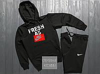 Мужской спортивный костюм Nike, Найк, черный (в стиле)