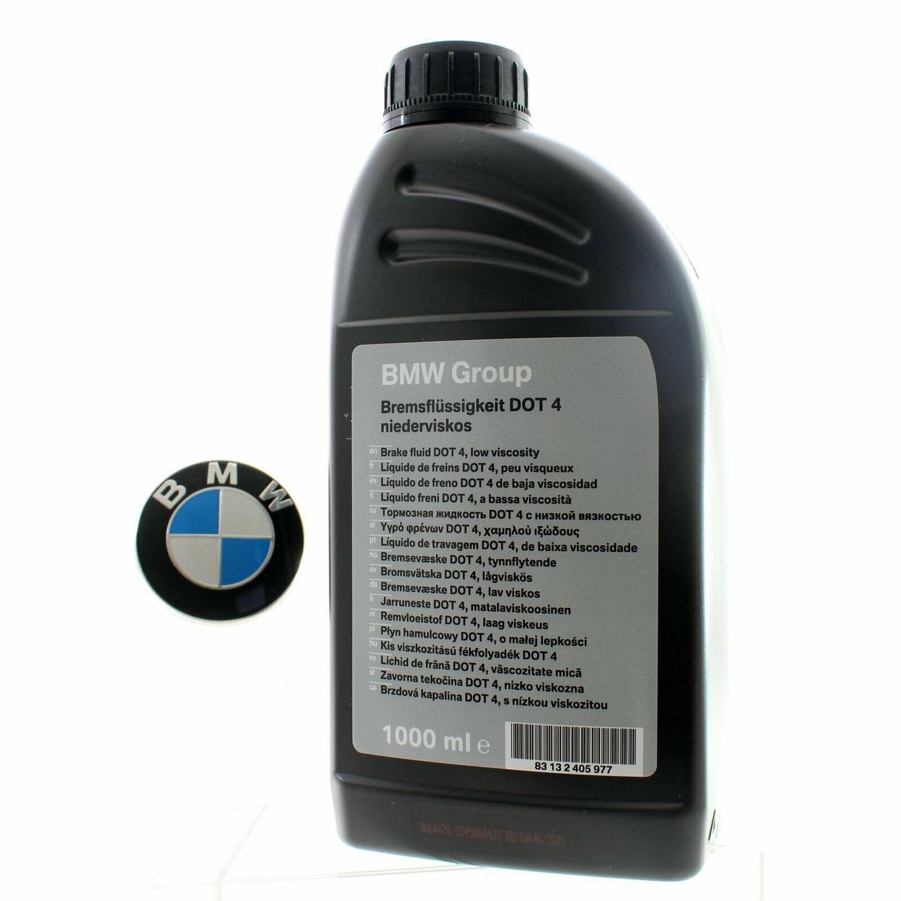 Тормозная жидкость оригинальная BMW DOT 4 LV