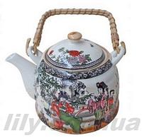 795 Чайник керамічний для заварювання чаю 0,9л