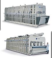 Автоматические линии прессования с непрерывным циклом LCC-PCC