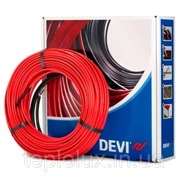 Тепла підлога DEVIflex 18T (14,7 м2). Кабель двожильний DTIP-18 (2135Вт-118м)