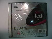 I-TECH DVD-RW 4,7Gb slim box 10pcs