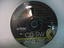 TDK CD-RW 700Mb (kake box 10)