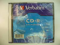 VERBATIM CD-R 700Mb slim box 1pcs