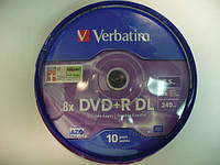 VERBATIM DVD-R 8,5Gb DL (kake box 10)