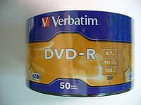 VERBATIM DVD-R 4,7Gb (spindle box 50)