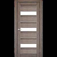 Двері соснові шпоновані екошпоном Корфад PORTO 12