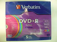 VERBATIM DVD-R 4,7Gb slim 5pcs