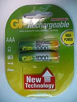 Аккумулятор GP NiMh 1000mAH (AAA) RECHARGEABLE