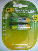 GP NiMh 700mAH (AAA) RECHARGEABLE