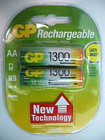 Аккумулятор GP NiMh 1300mAH (AA) RECHARGEABLE