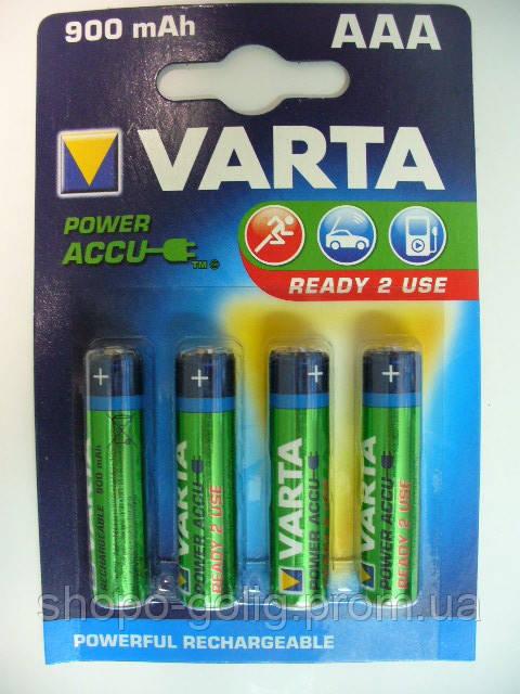 VARTA NiMh 900mAH (AAA) POWER ACCU