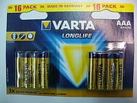 VARTA LONGLIFE LR03(AAA) 16BL
