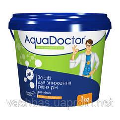 PH- Minus Granules, 1кг средство для понижение уровня Ph воды. Химия для бассейна AquaDoctor