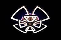 Светодиодная люстра с пультом-димером и цветной подсветкой коричневая 8118-4+4, фото 1