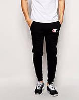 Мужские спортивные штаны Champion, чемпион, черные (в стиле)