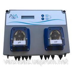 Aquaviva Система перистальтичних доз.насосів AquaViva PH/RX+Free Cl 1,5 л/год+Осередок PH/RX+Free Cl