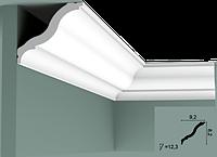 Карниз(плинтус) потолочный гладкий Orac Decor Basixx CB503N, лепной декор из пенопласта