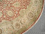 Овальный ковер из шерсти и шелка , фото 2