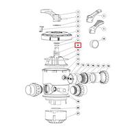 """Emaux Пружина (03014014) для 1.5"""" и 2"""" крана верхнего подключения фильтров Emaux серии MPV"""