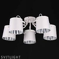 Люстра потолочная на 5 лампочек 29-K065/5 WT N Svitlight