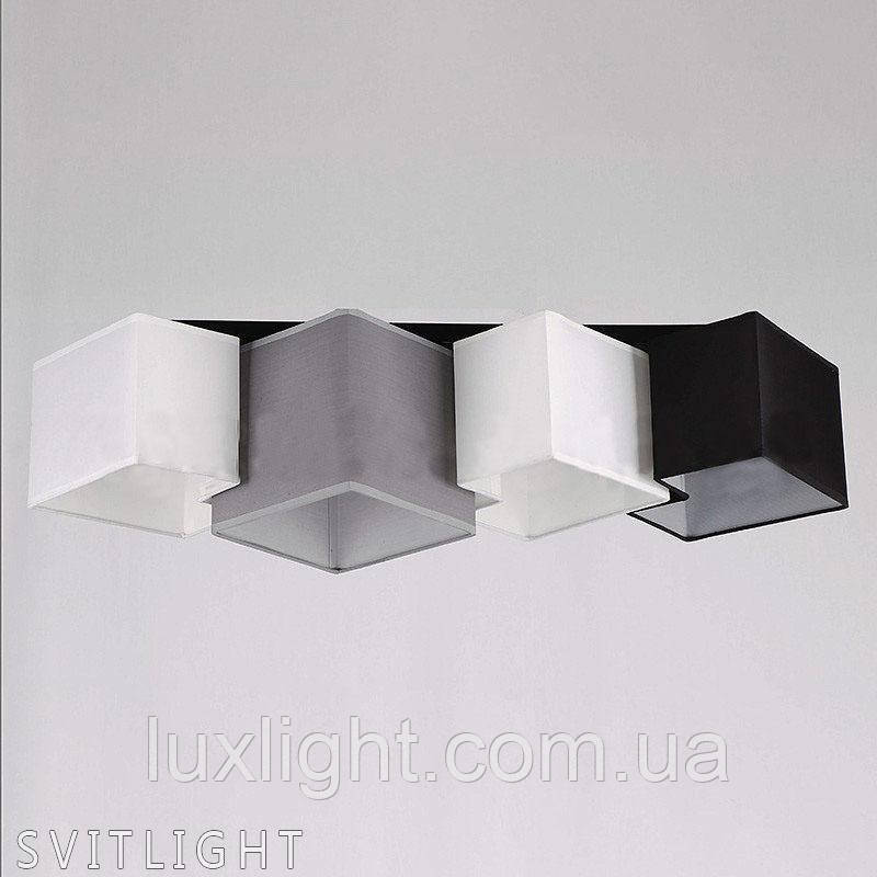 Люстра потолочная с абажуром 29-K051/4 BK N Svitlight